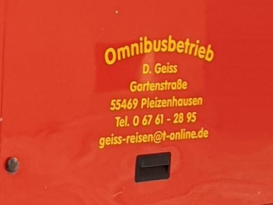 Geiss Reisen, Pleizenhausen