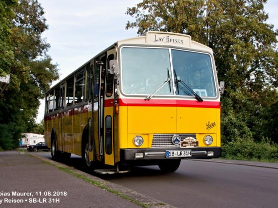 Lay Reisen - On Tour GmbH • SB-LR 31H • Saurer 3 DUK