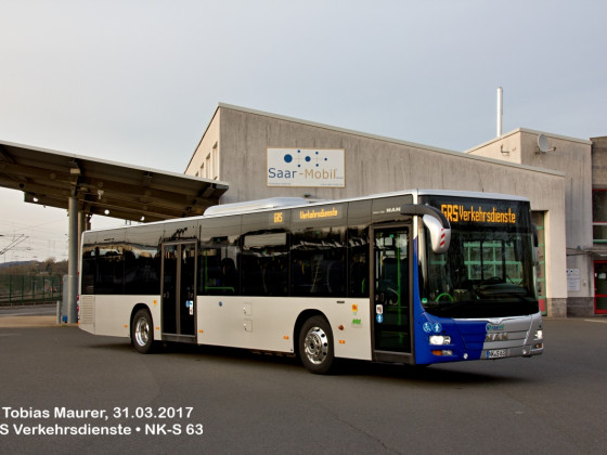 GRS Verkehrsdienste • NK-S 63 • MAN A20 (NÜ 360) Lion's City Ü